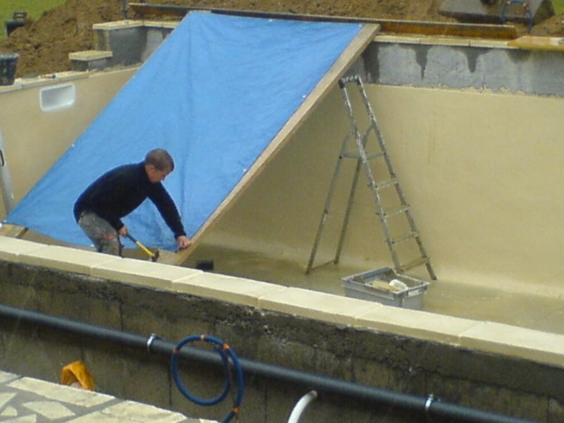 Construction piscine for Construction piscine 22